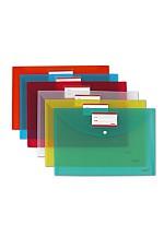 Файлын уян хавтас  W208CA-20 (transparent red)