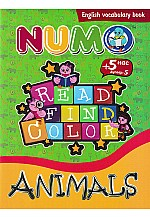Read find color : Animals